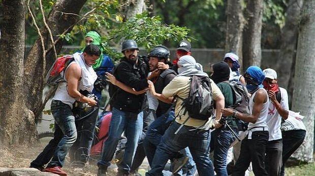 periodistas agredidos en venezuela