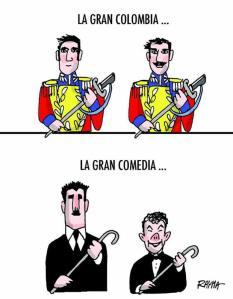 caricatura de Rayma censurada